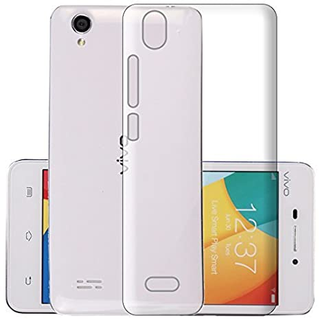 huge discount 70f7c f5864 ECellStreet® Silicone Soft Back Cover for Vivo Y31 (Transparent)