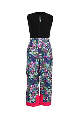 Arctix Kids Limitless Fleece Top Bib Overalls, Freeze Pop Multi, 2T (Pants Ski Patterned Girls)