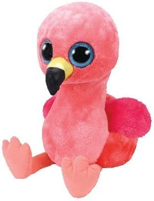 2f61ace3fc0 Ty Beanie Boos -37262 - Gilda the Flamingo 28cm. Back. Double-tap to zoom
