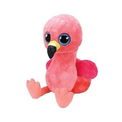 Amazon.com  Ty Beanie Boos Gilda - Pink Flamingo 9