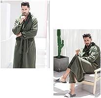 Lhl Pijamas túnica Yukata, otoño e Invierno, Pijamas para ...