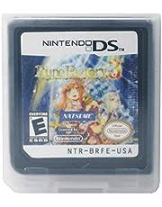 Nintendo 3ds Games Nintendo ds Ren Tian DS Rune Factory Rune Factory DS Game Card DSI 2DS 3D S Game Card US Version Game Cartridge for Nintendo ds (Size : Rune Factory 3:)