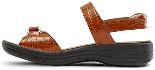 Dr. Comfort Women's Rachel Peanut Brittle Sandals by Dr. Comfort (Image #3)