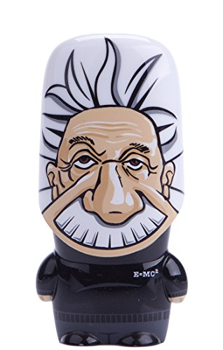 8GB Albert Einstein Legends of MIMOBOT Designer USB Flash Drive with bonus preloaded Mimory content, Limited Edition by Mimoco
