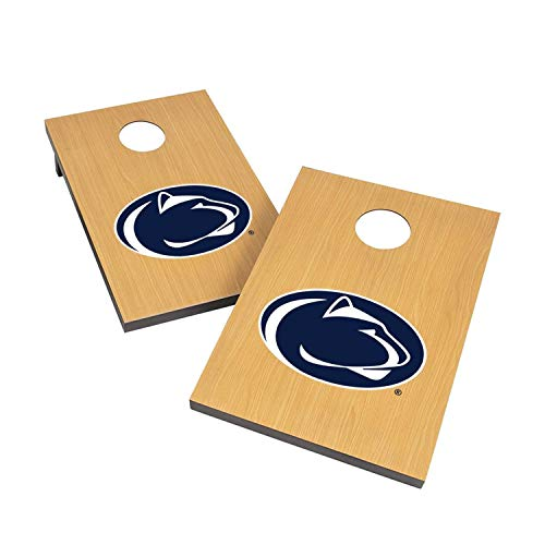 Victory Tailgate NCAA 2x3 Travel Cornhole Set - 2 Boards, 8 Bags - Penn State Nittany Lions