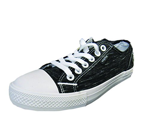 Baby Phat Stan BP Heather Womens Fashion Sneaker (8.5, Black/White)