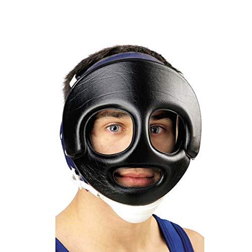 (Cliff Keen Wrestling Face Guard Black)