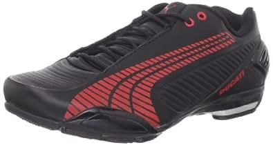 Puma Men's Testastretta III Ducati Fashion Sneaker,Black/Red/Aged Silver/White,6 D US
