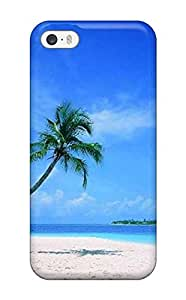 (ekjWuLL7325MBBLi)durable Protection Case Cover For Iphone 5/5s(wallpaper Of Beach Scenes )
