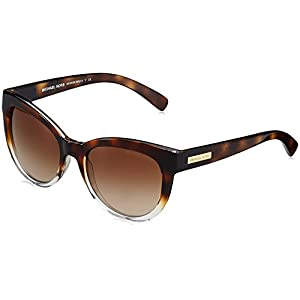 Michael Kors Mitzi I Square Cat Eye Sunglasses Tortise Shell
