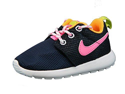 Nike Jr Rosherun Td - Zapatillas Unisex Niños Azul
