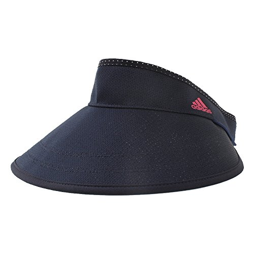 アディダス(adidas) CP UVコンパクト美バイザー CCS05 N68674 ネイビー