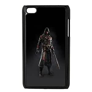 iPod Touch 4 Case Black ak28 assassins creed rogue game art dark shay hood U7L1JC