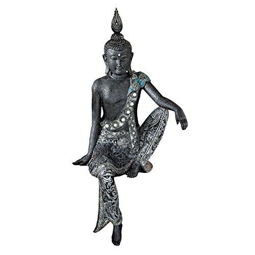 Design Toscano Bodhisattva Discovering Nirvana Asian Statue, ()