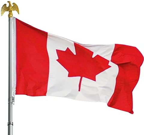CANADIAN NATIONAL FLAG OF CANADA 5ft x 3ft MAPLE LEAF QUALITY FLAG POLYESTER