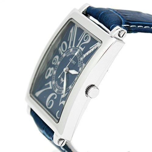 [Michel Jordan] michel Jurdain watch sports diamond leather all-blue SG3000-8 Men's by michel Jurdain (Michel Jordan)