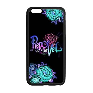 Fashion Pierce the Veil Protective Rubber Gel Coated Case Cover for iPhone 6 Plus