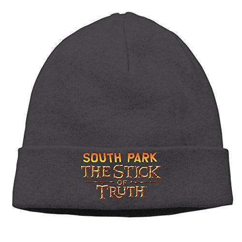 DETO Men's&Women's South Park Patch Beanie TourBlack (Vans Superhero Shoes)