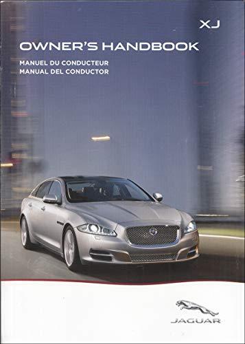 2014 Jaguar XJ, XJL, and XJR Owners Manual Original