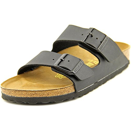 Birkenstock Unisex Arizona Black Birko-flor Sandals - 8-8.5 B(M) US - Sandal Arizona Womens