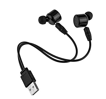 Yizhet Mini Auriculares Bluetooth,Auriculares Bluetooth 4.2 Earphone Twins Stereo Ear-buds Manos Libre para Iphone X 8 7 7Plus 6S Galaxy S7 Smartphones ...