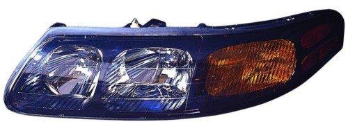 Pontiac Bonneville Gxp - Pontiac Bonneville (w/o GXP) Replacement Headlight Assembly - Driver Side