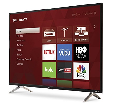 TCL 40S305 40-Inch 1080p Roku Smart LED TV (2017 Model