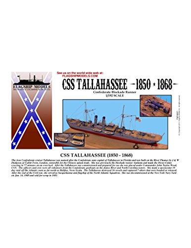 1/192 scale CSS Tallahassee Confederate Blockade Runner (14