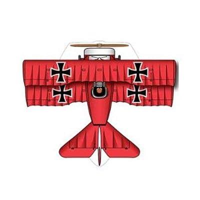 X-Kites MicroKite Mini Mylar Kite - Red Baron: Toys & Games