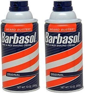 Barbasol Thick and Rich Shaving Cream, Original 10 oz (Pack of 2)