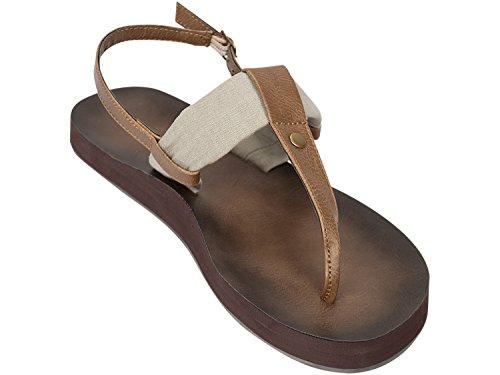 Natural Montauk Camo Tidewater Sandals Women's 6qIXqOw