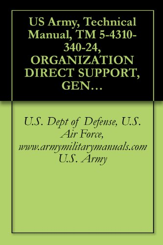 US Army, Technical Manual, TM 5-4310-340-24, ORGANIZATION DIRECT SUPPORT, GENERAL SUPPORT AND DEPOT MAINTENANCE, COMPRES ASSEMBLY, RECIPROCATING, AIR: ... TANK, military manauals, special forces