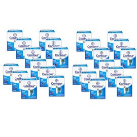 Bayer Contour Blood Glucose 50ct Test Strips (Case of 24)