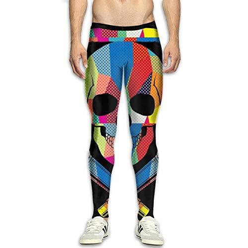 Summermf Retro DJ Skull Music Mens 3D Casual Active Sports Joggers Pants Trousers Sweatpants -