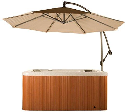 Hot Tub Gazebos (Spa Side Umbrella Hot Tub Cover Hot Springs Pergolas Canopies Gazebos Sun Shade Cantilever)