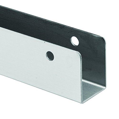 Bracket 5 Hole - Sentry Supply 650-1508 Wall Bracket, 18 Ga. x 3/4 In. x 1-1/2 In. x 57 In., Stainless Steel,