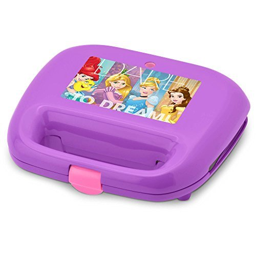 Disney Princess DP-2 Waffle Maker, One Size, Purple