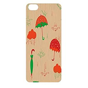 GJY The Beautiful Umbrella Pattern PC Back Case for iPhone 5C