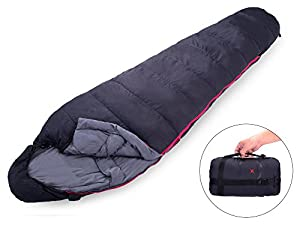 X-CHENG Ultralight Down Sleeping Bag - Warm without Weight - Save Space and Shave Weight - Can be Compressed into Ultra-small Size Easy to Carry - Waterproof, Comfort for the Indoor or Outdoor
