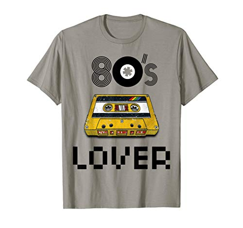 I Love The 80s Eighties Shirt Culture Pop Classic Flashback ()