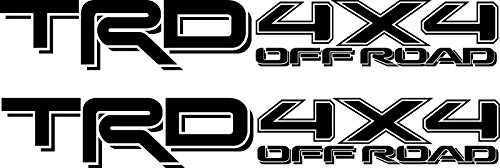 (Trd Toyota 4X4 Off Road Accessories 4Wd Decals Stickers)