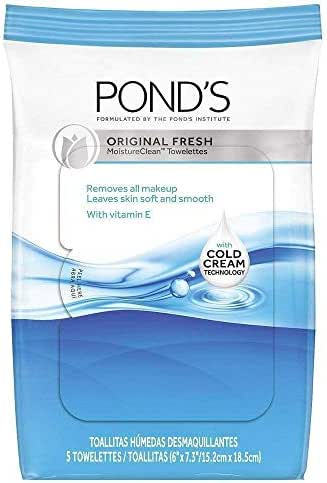 Facial Cleansing Wipes: Pond's Original Fresh Wipes