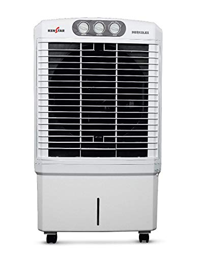 Kenstar HERCULES (CL-KCIHRF1H-FCA) Air Cooler - 80 litres, White 2021 July Water Inlet Water Level Indicator Remote Control