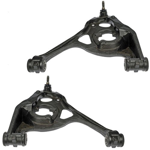 - Detroit Axle Front Lower Driver & Passenger Side Control Arm Assembly w/Ball Joint - 2WD & 7300 GVW Only for 2003-2014 Chevy Express 1500, 2500 - Savana 1500, 2500 - [03-13 3500, 4500 Models]