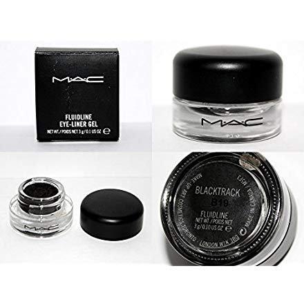 MAC Fluidline Eye Liner Gel Blacktrack Black Waterproof NEW [Made In Canada] 100% Authentic Or Your Money Back Guaranteed (Eyeliner Gel Fluidline Mac)