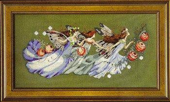 Fairy Cross Stitch Pattern - Shakespeare's Fairies Cross Stitch Pattern