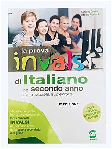 Amazonit La Prova Invalsi Di Italiano Nel Secondo Anno Della