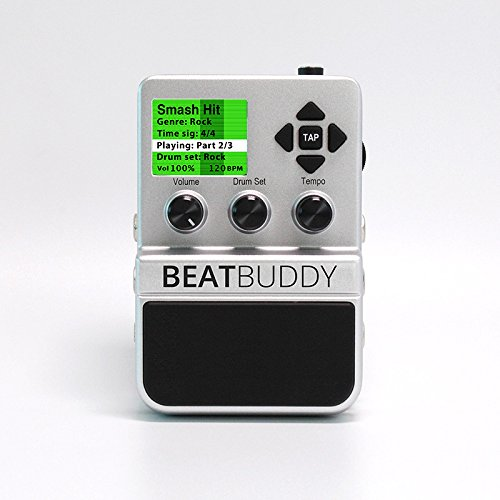 Drum Kit Sounds - Singular Sound BeatBuddy the First Guitar Pedal Drum Machine