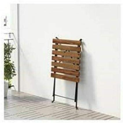 54 x 55 cm in legno QLS Tavolo da balcone e terrazza