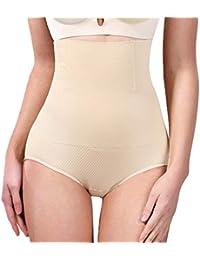 e4434494ef Tummy Control Shapewear Shaper Bodysuit Slimming High Waist Panties  Seamless Briefs for Womens
